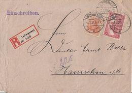 DR R-Brief Mif Minr.94B, 141 Ludwigslust 2.2.21 - Deutschland