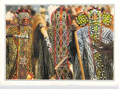 Afrique CAMEROUN Bandjoun Danseurs Bamilekes Masqués (4) (croyance Magie) *PRIX FIXE - Kamerun