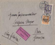 DR Brief Eilbote Mif Minr.120,132 München 25.6.21 - Deutschland