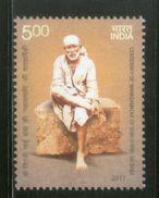 India 2017 Saint Shree Shirdi Sai Baba Religion 1v MNH # P3363 - Hinduism