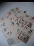 Lot De Lettre - Centenaire Du Timbre Poste  1949 Dont 2 Citex - Postmark Collection (Covers)