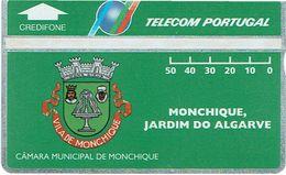 PHONECARDS-PORTUGAL ---  PORTUGAL TELECOM-- OPTICAL-  50 U-MONCHIQUE., JARDIM DO ALGARVE- BATCH-309A--MINT-- - Portugal