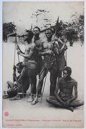 Guerriers Oudombo-Région De L'Ogooué.Collection J. Audema - Congo Français - Autres