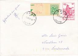 Enveloppen Nr. 21  - 1982 Bode Van Neurenberg. Zeer Mooie Afstempeling PEER 10-06-87 - Entiers Postaux