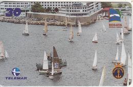 BRAZIL(Telemar) - Sailing, 56a Regata Escola Naval, 09/01, Used - Sport