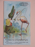Chicorée A La Bergère EMILE BONZEL Haubourdin (Nord) N° 7 Le Flamand Rose - Le Crocodile .....! - Thé & Café