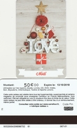 ## Carte  Cadeau   CARREFOUR  CE  50eu  ## ( FRANCE) Gift Card, Giftcart, Carta Regalo, Cadeaukaart - Cartes Cadeaux