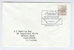 1986  CHELTENHAM DEAN CLOSE SCHOOL Visit HRH Princess ALEXANDRA EVENT  COVER Pmk GB Stamps Royalty - 1952-.... (Elizabeth II)