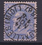N° 48  BRUXELLES ( MIDI ) - 1884-1891 Léopold II
