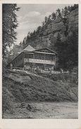 AK Gasthaus Mühle Dürrkamnitzschlucht Herrnkretscham Herrnskretschen Niedergrund Elbleiten Tetschen Böhmische Schweiz - Sudeten