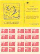 FRANCE - BOOKLET / CARNET, Yvert 3085-c5, 1999, 10 X TVP Marianne Du 14 Juillet, Red - Uso Corrente