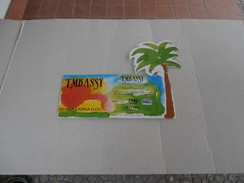 Rimini - Embassy - Ingresso Discoteca 1993-94 - Biglietti D'ingresso