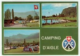 Suisse // Schweiz // Switzerland // Vaud // Aigle, Le Camping - VD Vaud