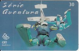 BRAZIL(CRT/Brasil Telecom) - Extreme Sports/Free Fall, 10/01, Used - Sport