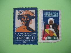 Vignette  Exposition Coloniale - Erinnophilie