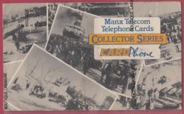 ILE DE MAN---Plaquette Collector-MANX TELECOM---5 Cartes Tirage Limité-Divers Visuels Et Valeurs ( Voir Scans ) - Ver. Königreich