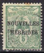Nouvelles-Hébrides N° 1 - Leggenda Francese