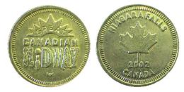 03761 GETTONE TOKEN JETON CANADA NIAGARA FALLS ONTARIO AMUSEMENT PLAY MACHINE - Tokens & Medals