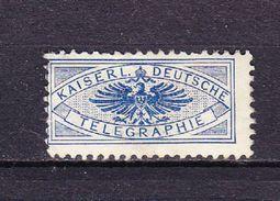Marke, Kaiserl Deutsche Telegraphie (45336) - Seals Of Generality