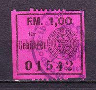 Gebuehrenmarke, Stadt Osnabrueck, 1 Reichsmark (45337) - Seals Of Generality