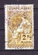Stempelmarke, Hamburg, 2 1/2 Mark (45339) - Seals Of Generality