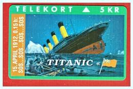 "DENMARK: DK-KP-065 ""Shipwrecks - Titanic"" SN:1354 UNUSED - Denmark"