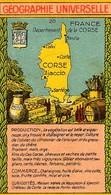 CORSE - Image Bon Chocolat - Géographie - La Corse Et Ses Produits - Sin Clasificación