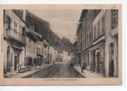 Cpa.01.La Cluse.1922.Route Nationale.animé Personnages - Francia