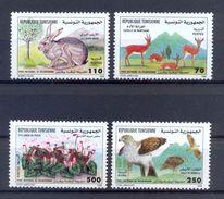 Tunisia/Tunisie 1998  - Stamps 4v -  World Day Of Biodiversity: Boukornine National Park - MNH** - Tunisia