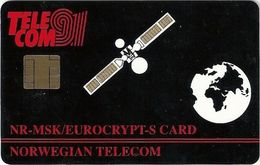 Norway - ITU Palexpo 91 Geneva NR-MSK Eurocrypt-S Card, GemA - Norway