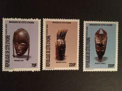 Ivory Coast Masks 2005   Postage Extra On All Items - Ivory Coast (1960-...)