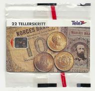 Norway - Telenor - Gold Coins - N-20 - 10.1993, 6.000ex, NSB - Norway