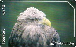 Norway - Telenor - Havorn Bird - N-248 - 08.2002, 90.000ex, Used - Norway