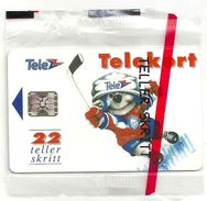 Norway - Telenor - Icehockey - N-006c - Sn.39984 - SC5, 1992, 4.000ex, NSB - Norway
