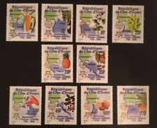 Ivory Coast 2005 Europa Stamps 50th. Anniv. - Ivory Coast (1960-...)