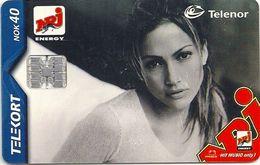Norway - Telenor - Jennifer Lopez - N-192 - Sn.C0A042706, 12.2000, 19.982ex, Used - Norway