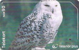 Norway - Telenor - Snougle Bird - N-250 - 08.2002, 40.000ex, Used - Norway