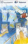 Norway - Telenor - Telenor Expo- P-03 Sn.C52148795 - 03.1995, 9.500ex, Mint (Check Photos!) - Norway