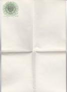 Amtliches Blanko-Dokument - 1 Mark - Prägestempel (32495) - Gebührenstempel, Impoststempel