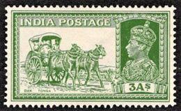 India - Scott #156 MH - 1936-47 King George VI