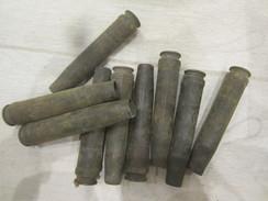 9 Douille S Allemande Ww2 De 20x138b Pour Flack (inerte) étui Laiton 20mm - Armi Da Collezione