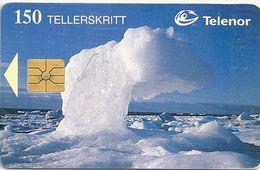 Svalbard - Telenor - Isskavl - N-076a - Gem1Aa, 05.1996, 5.000ex, Used - Svalbard