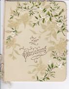Zur Verlobung - Blumen - Reliefdruck - Ca. 1910 (32497) - Engagement