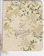 Zur Verlobung - Blumen - Reliefdruck - Ca. 1910 (32497) - Fiançailles