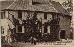 Manoir De Gonsans (Doubs), Facade Sud-Est, Alte Postkarte - Besancon