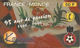 CARTEà-PREPAYEE-KOSMOS-11/99-OGC NICE FOOT-95 Ans De Passion-Gratté-TBE -RARE - Andere Voorafbetaalde Kaarten