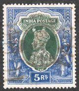 India - Scott #164 Used - 1936-47 King George VI
