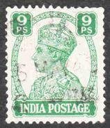 India - Scott #170 Used (2) - 1936-47 King George VI