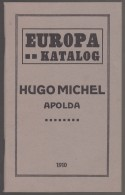 Michel Stamp Catalog Europe From 1910 (only 108 Pages), Amazing Mint Condition, Like Untouched, Great Historic Book - Timbres