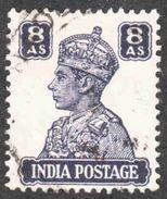 India - Scott #178 Used (3) - 1936-47 King George VI